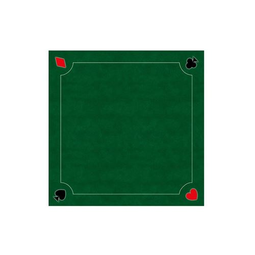 Tapis de cartes Multi jeux vert