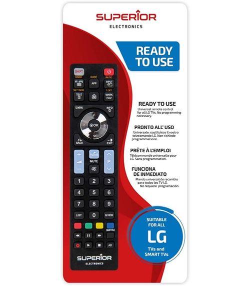 Télécommande prête à l'emploi pour TV LG