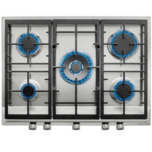 Teka ex 70 5 g ai al dr plaque (gaz ) 5 50.0 cm cuisinière à gaz avec allumage électrique encastrable en acier inoxydable