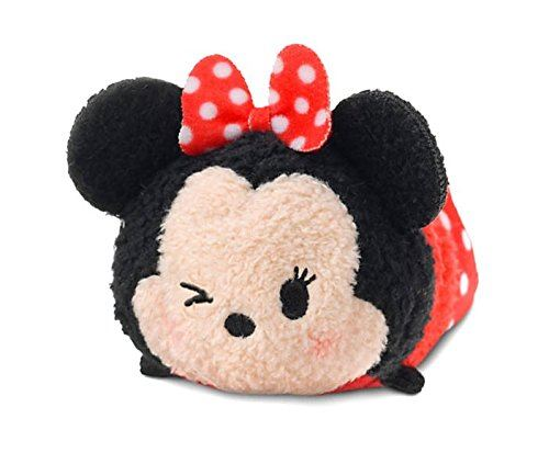 Minnie Mouse 3.5 Plush Disney Tsum Tsum Mickey Friends [Winking, Mini]