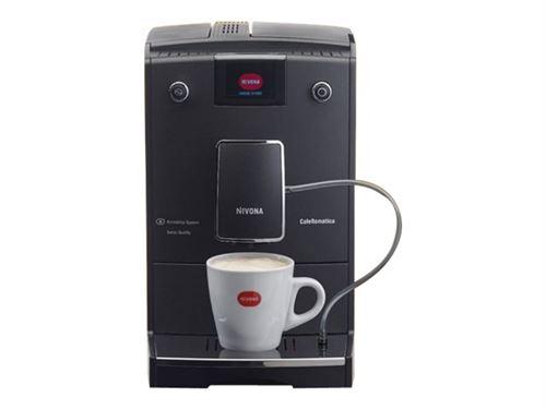 """NIVONA CAFEROMATICA 759 - Machine à café automatique avec buse vapeur """"Cappuccino"""" - 15 bar - noir mat/chrome"""