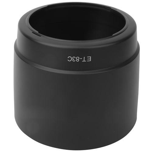 Parasoleil à monture en plastique noir ET-83C pour objectifs Canon EF 100-400mm f / 4.5-5.6L