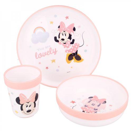 Coffret Déjeuner pour bébé - Disney Baby - Minnie