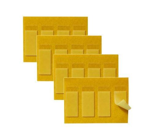 Lot de 3x4 adhésifs repositionnables