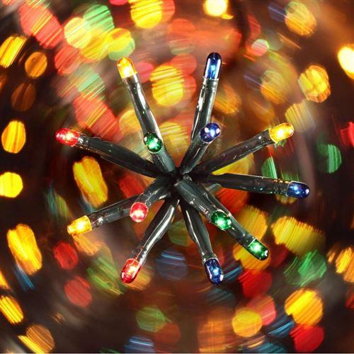 Guirlande 300 ampoules multicolores