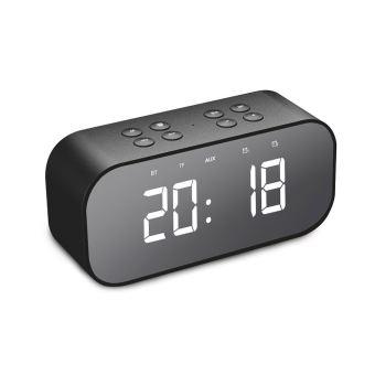 Alarme Horloge numérique Bluetooth 5.0 haut parleur stéréo