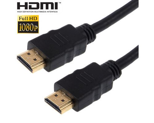 (#23) 1.5m Gold Plated HDMI to 19 Pin HDMI Cable, 1.4 Version, Support 3D / HD TV / XBOX 360 / PS3 /