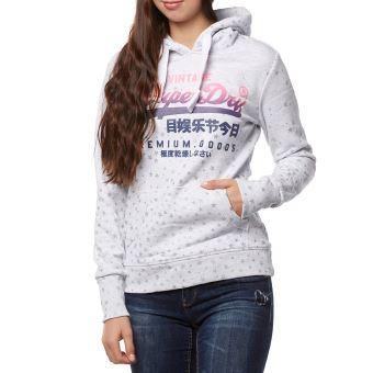Superdry, Sweatshit à Capuche Sportswear Femme Sweat