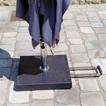 pied de parasol roulettes en granit achat prix fnac. Black Bedroom Furniture Sets. Home Design Ideas