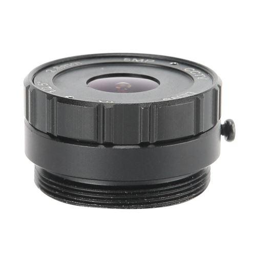 Objectif Focale Fixe 2.8 mm 5MP Pour Caméra CCTV de Sécurité Surveillance