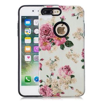 coque iphone 8 pivoine