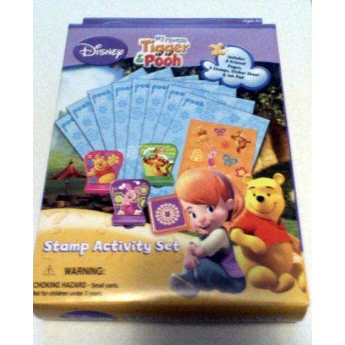Ensemble d'activités Mes amis Tigrou Winnie l'Ourson Disney
