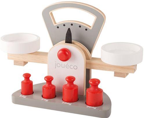 Jouéco échelle en bois de 28 cm 5 gris / blanc Junior pcs