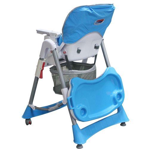 Todeco Chaise Haute pour Bébé, Chaise Pliante pour Bébé