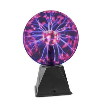 Boule plasma Effet électrique 20cm charge coloré Om80PnwyvN