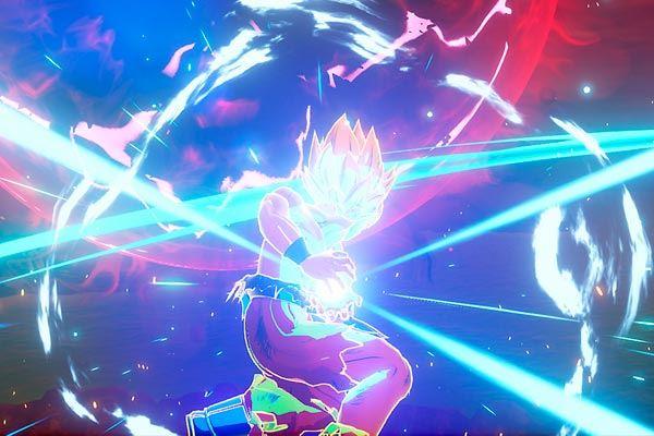 Dragon Ball Z Kakarot: Luz, fuego, destrucción