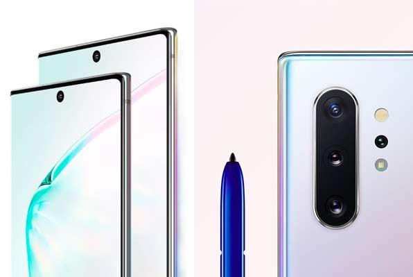 smartphone-SAMSUNG NOTE 10 +