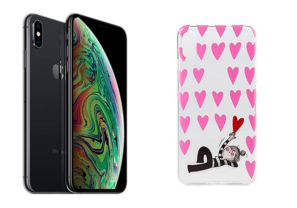 IPHONE XS MAS y funda