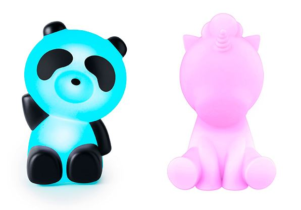 LUMINOUS PANDA y UNICORNIO