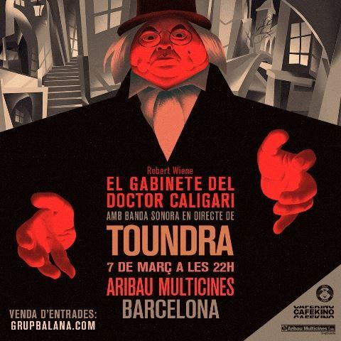 cartel ok CALIGARI + TOUNDRA en BARCELONA_03