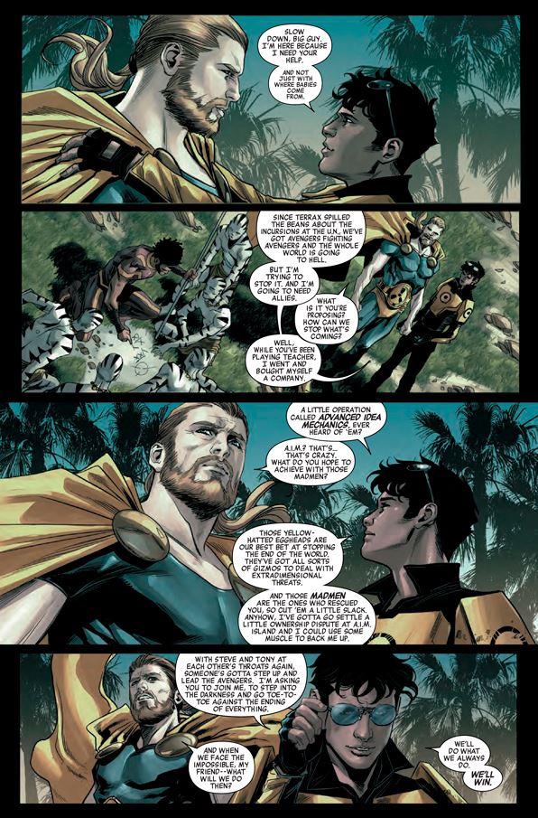 Vengadores Mundiales-comic