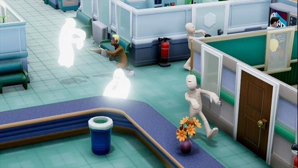 Two Point Hospital-videojuego