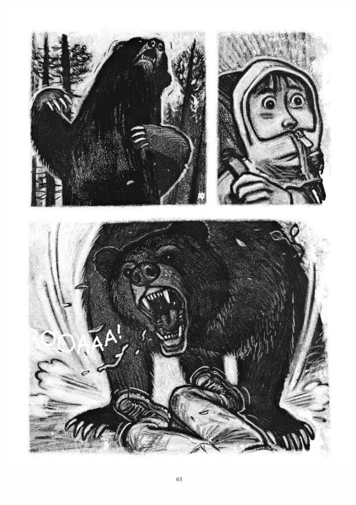 mujer salvaje-comic