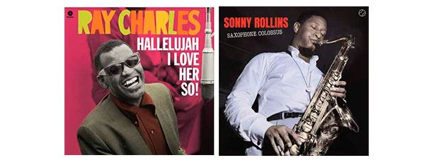 Ray Charles y Sonny Rollins