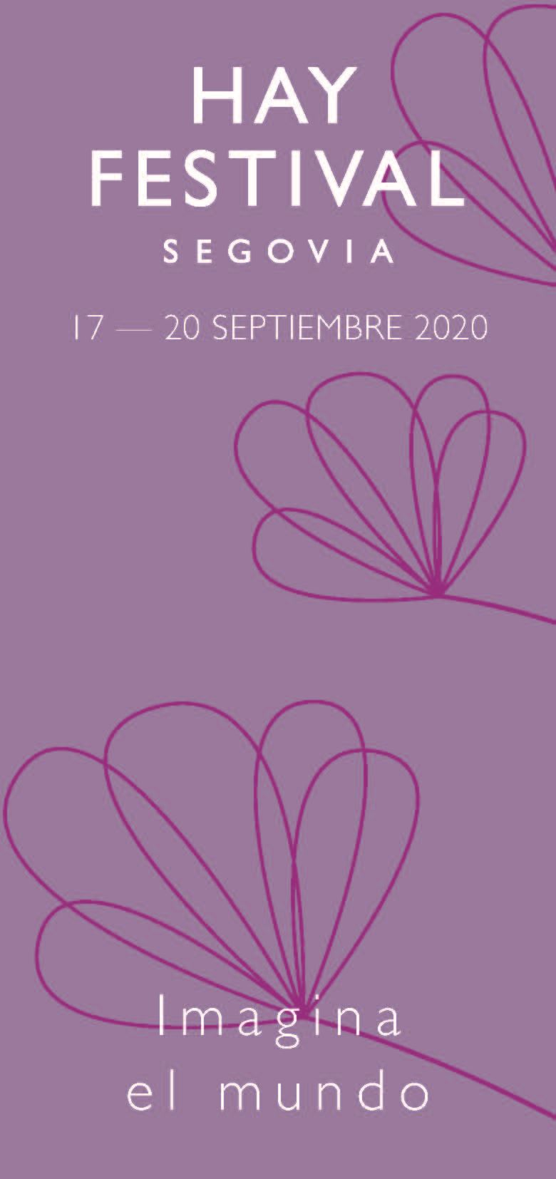 Hay Festival Segovia 2020 cartel