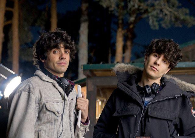 Javier Ambrossi y Javier Calvo en Fnac Callao