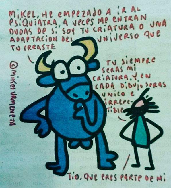 Toro de Mikel Urmeneta