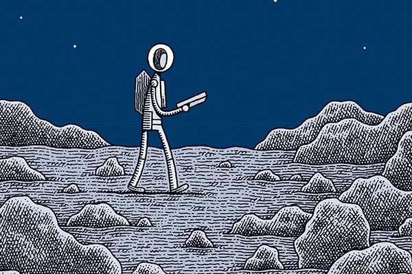 Tom Gauld: Melancolía espacial