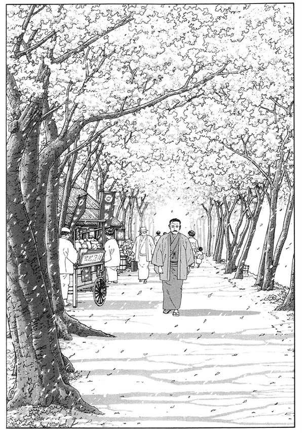 comic jiro taniguchi