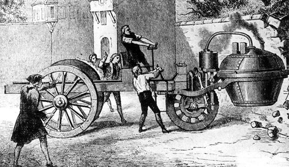 primer coche Cugnot