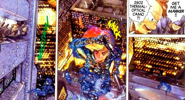 ghost in the shell comic