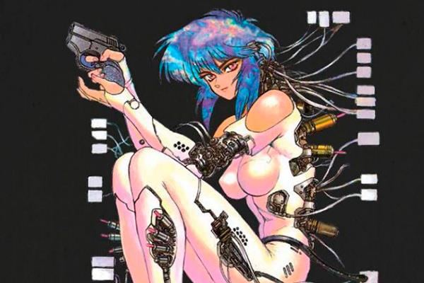 The Ghost in the Shell: Germinal Cyberpunk filosófico