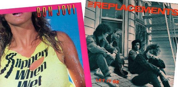 Eric Spitznagel vinilos Bon Jovi  y The Replacements