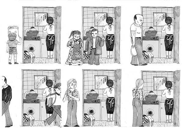 comic ana penyas - abuela - trabajo domestico