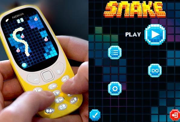 NOKIA 3310 Juego Snake