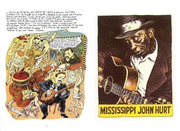 comics y musica - Brassens y R.Crumb