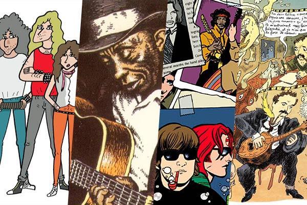 Cómic y música: Melodías de viñetas (y bocadillos)