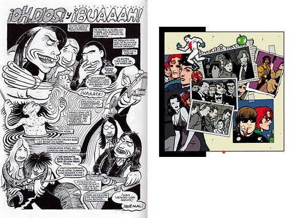comics y musica- Rock y yo - RedRocket