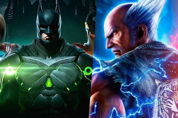 Tekken y Injustice: Round 1... Fight!