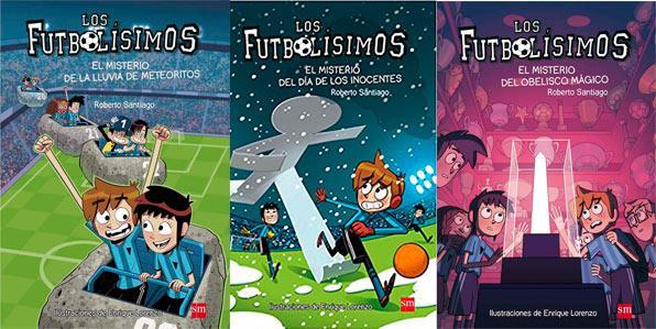Futbolisimos portadas libros