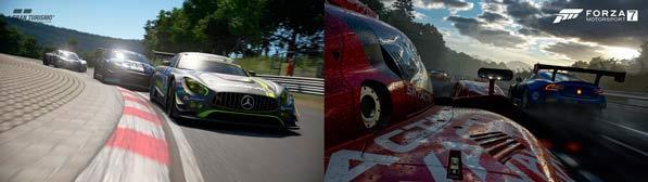 Videojuegos - GT Sport - Forza Motorsport 7