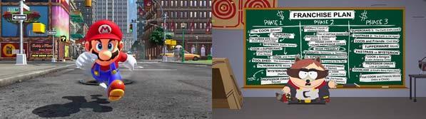 Videojuegos - Super Mario Odyssey - South Park