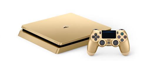 Consolas - Playstation S4 Oro
