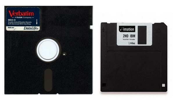 Almacenamiento - disquetes