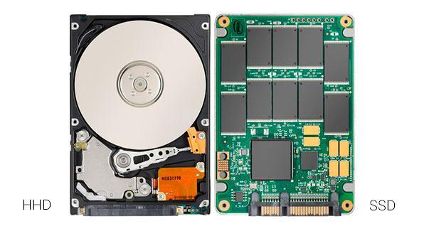 Almacenamiento - HHD vs SSD