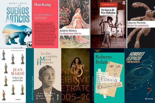 Top ten literatura: El año en diez lecturas